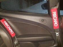 คู่อัตโนมัติเข็มขัดนิรภัยรถที่นั่งเข็มขัดไหล่ Pads เบาะรองนั่งความปลอดภัยไหล่ Auto ภายใน Accessorie