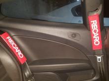 페어 자동 시트 벨트 커버 자동차 시트 벨트 어깨 패드 커버 쿠션 레이싱 안전 어깨 보호 자동 인테리어 accessorie
