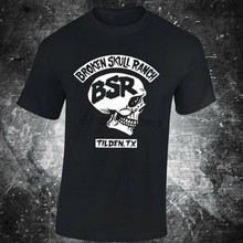 SKU31 BSR ROTTO CRANIO RANCH T-Shirt Steve Austins Sfida Stone Cold palestra(China)