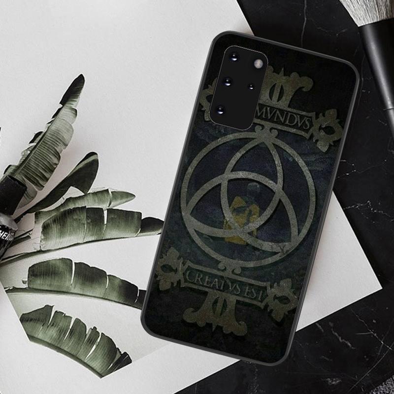 Best Sellers Netflix Dark DIY Painted Bling Phone Case For Samsung S20 Plus Ultra S6 S7 Edge S8 S9 Plus S10 5G