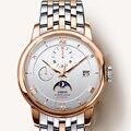 Швейцария люксовый бренд LOBINNI мужские часы Чайка автоматические механические мужские часы сапфировые многофункциональные водонепроницае...