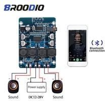 Tpa3118 placa de amplificador bluetooth duplo canal 2*45w áudio estéreo bluetooth amplificador potência digital DC12 28V para amplificadores diy