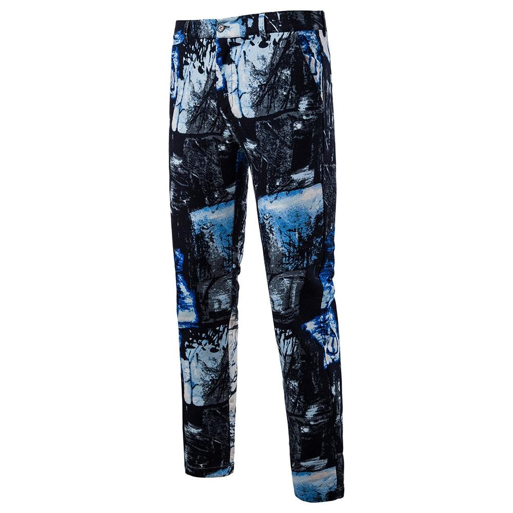 Мужская Мода Национальный Ветер Повседневное модные Для мужчин Блейзер Для мужчин s Брюки - Цвет: 06