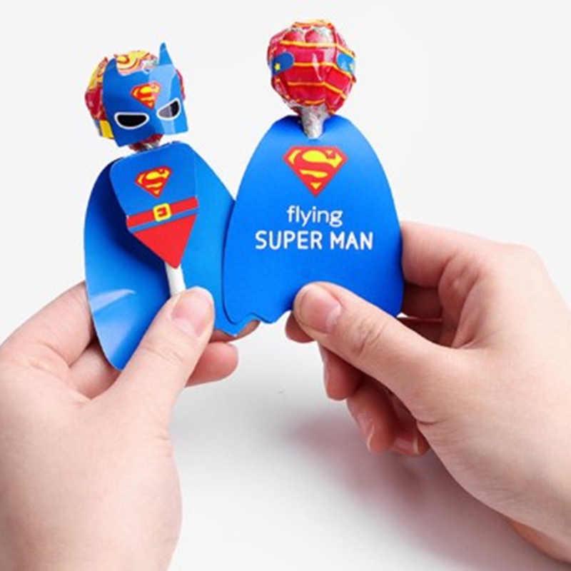 para fiestas de Superh/éroes para cumplea/ños CAJITAS de SUPERHEROES para regalos para ni/ñas y ni/ños para golosinas KINPARTY /® Pack de 12