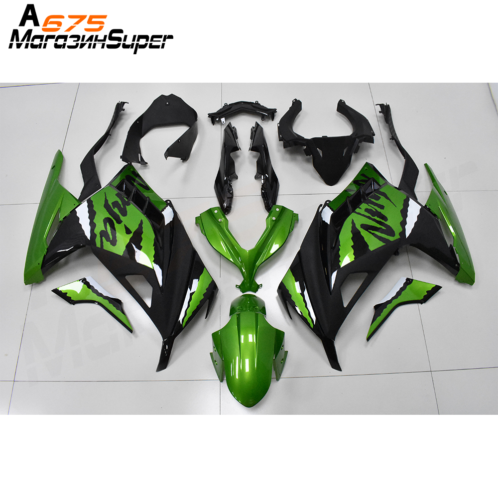 For Kawasaki NINJA300 Ninja 300 12-17 NINJA Sticker Fairing ABS Plastic Racing Fairing High Quality 12 13 14 15 16 17 18 19 20
