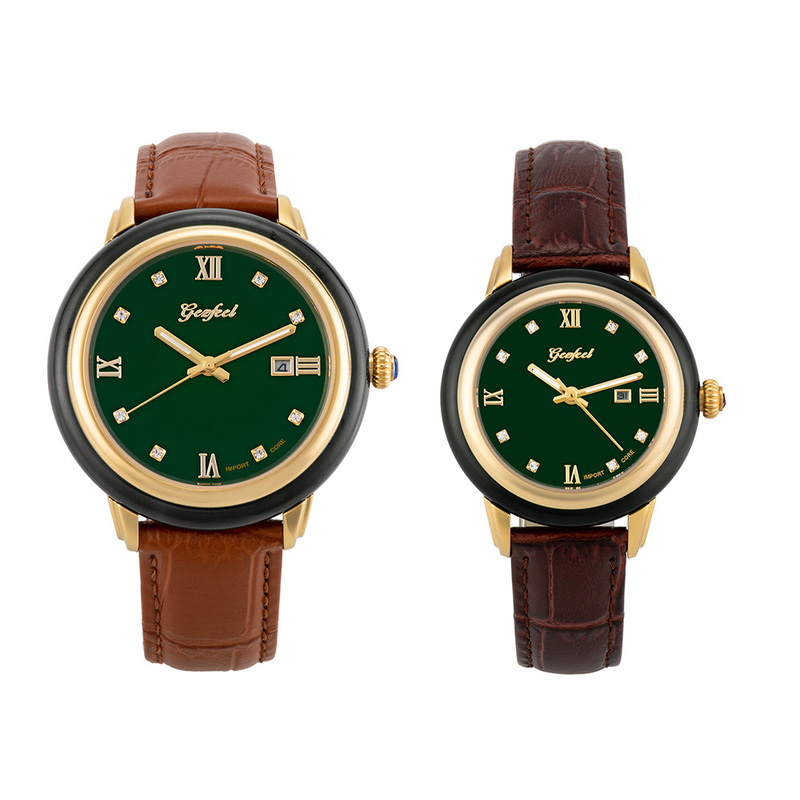 2019 Rushed Time-limited Wholesale Couple Model Of Hetian Jade Table Full Automatic Mechanical Watches A Undertakes To