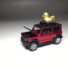 Die Jimny Cast-Model Car-Collection-Limited 1/64-Suzuki ERA with Duck Lunar New-Year-Edition