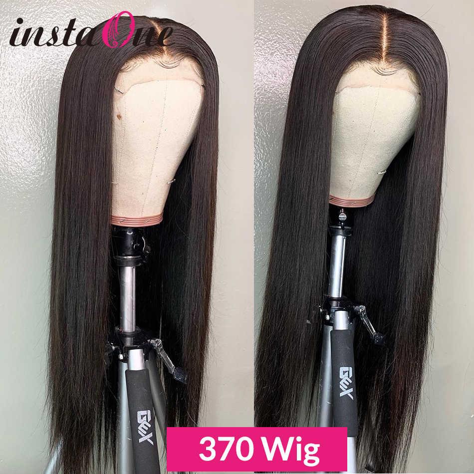 250 Yoğunluk Uzun 13x6 Dantel Ön İnsan Saç Peruk Brezilyalı Düz 28 30 Inç 360 Dantel Ön Peruk ön Koparıp Siyah Kadınlar Için