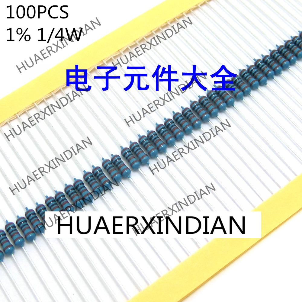 100PCS 1% 1/4W 150R 150ohm New In Stock
