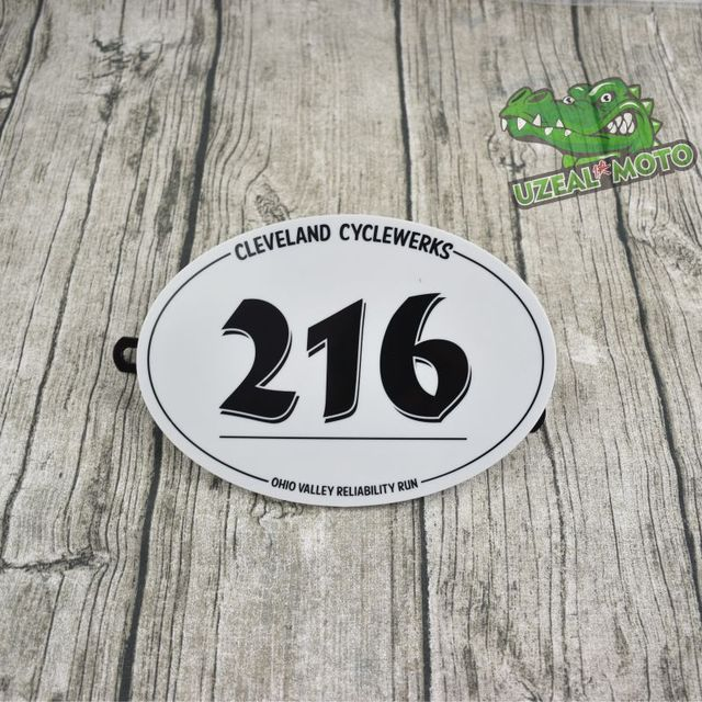 Retro motocykl zmodyfikowany cafe racer wspinaczka numer płyta dekoracyjna tablicy rejestracyjnej