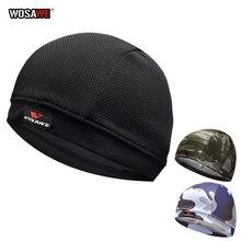 WOSAWE Motorcycle Helmet Inner Cap Quick Dry Breathable Hat Racing Cycling Cap Under Helmet Sweat hat for Helmet Motocross cap