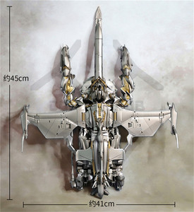 Image 5 - Komiks klub w magazynie weijaing MPM08 WJ T 08 wstrząsnąć niebo skrzydło Oversize MPM 08 transformacja stopu figurka zabawka robot