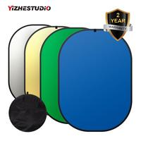 150* 200cm 4in1 Collapsible Background chroma key Panel Green Blue Backdrop Photo Reflector Studio Lighting Control Fotografia