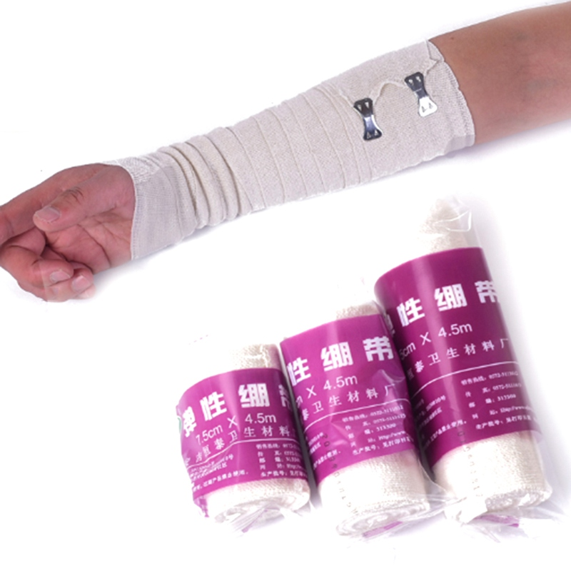 Roll High Elastic Bandage Wound Dressing Outdoor Sports Sprain Treatment Bandage For First Aid Kits Accessories