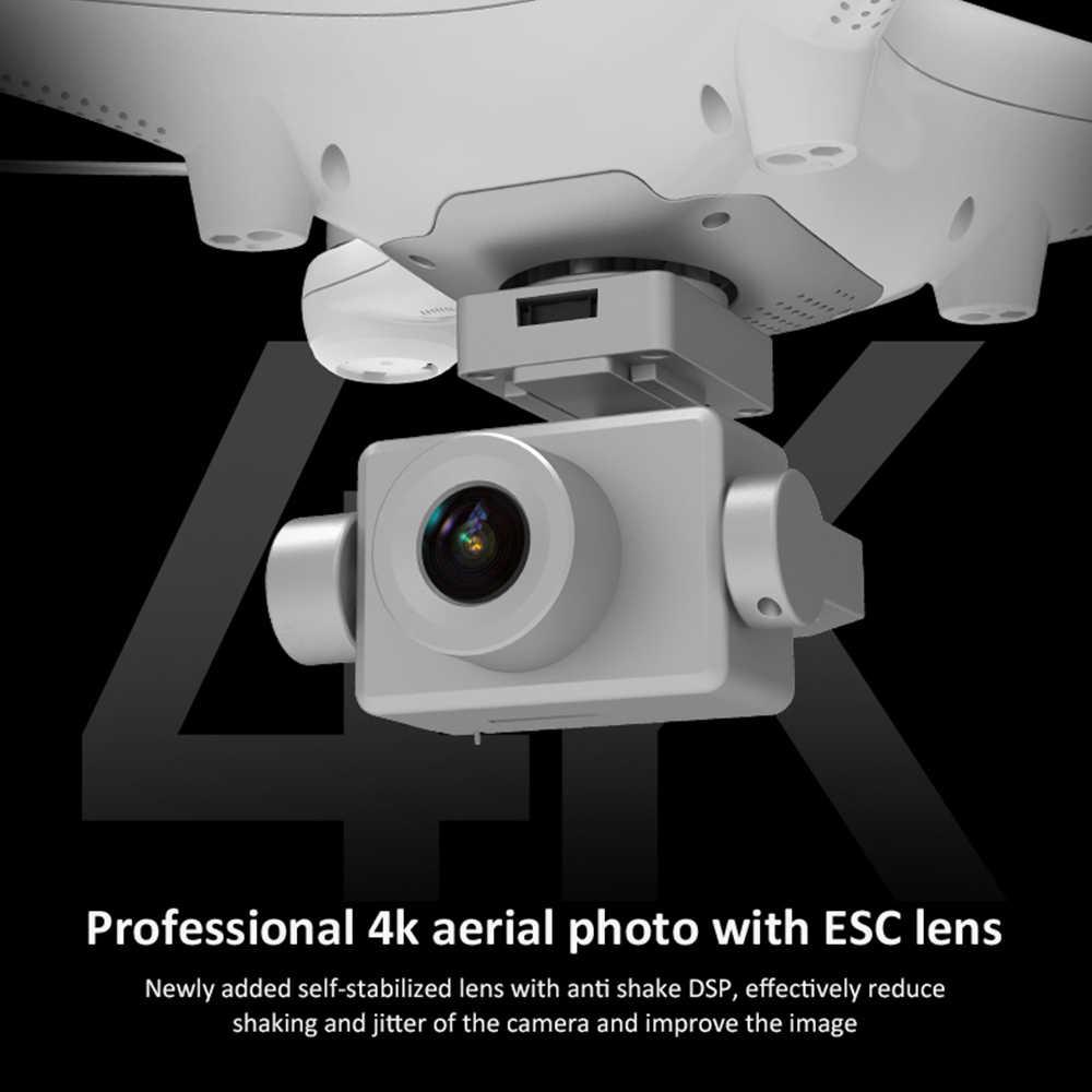 K777 ドローン 4 18kカメラ、hdジンバルgps wifi hd profissional rc quadcopterブラシレスモータードローン 30 分 1 キロvs X35 SG906 プロ