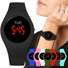 Woman Sport Casual LED Watches Men's Digital Clock Man Military Silicone Wrist Watch Clock Unisex Gift Clock Relogio Masculino(China)