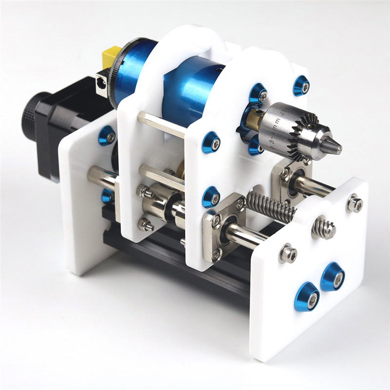 EleksMake Z-axis & Spindle Motor Drill Chunk Integrated Set DIY Upgrade Kit For Laser Engraver CNC Router Durable