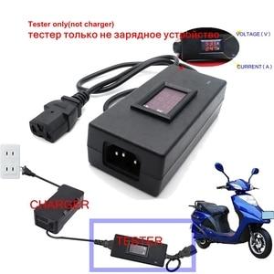 Image 2 - Portable Smart Tester For Charger Battery Lead Acid Gel Agm Lithium Electric Bike Scooter Voltage DC 5V 99V Current 0.1 9.9A