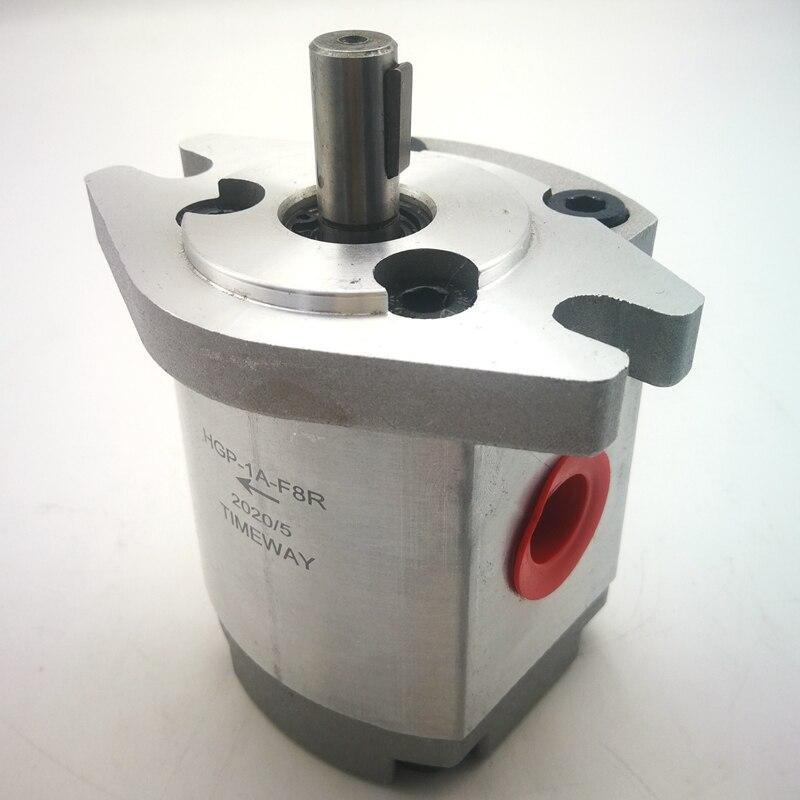 Hydraulic Gear Pumps HGP-1A-F6R HGP-1A-F8R HGP-1A-F8L High Pressure Oil Pump For Oil Transfer Manufacturers Aluminium Alloy