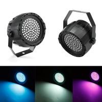 LED Par Lights 12W DJ LED RGBW Par Lights RGB Wash Disco Sound Activated Party Light DMX Controller Effect EU Plug Dropship