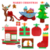 Big Size Building Blocks Accessories Compatible Large Bricks Children Kids Christmas Tree Gifts Series Festival Educational Toy