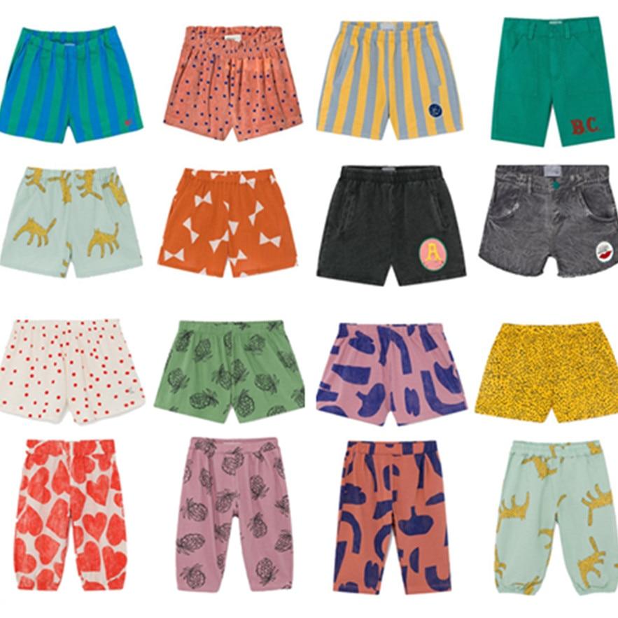 В наличии 2020 весной и летом BC для маленьких детей, детская одежда футболка с коротким рукавом для маленьких мальчиков и девочек штаны для ма...
