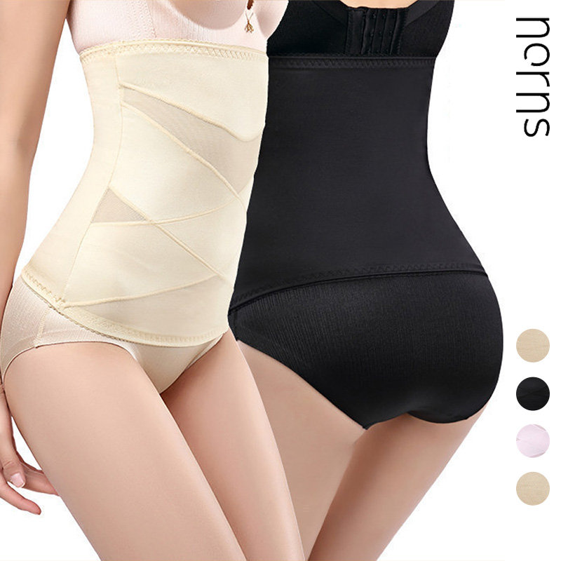 Norns New Breathable High Waist Reduction Belly Belt Without Curling Body Shaping Body Slim Waist Belt Female Abdomen Belt
