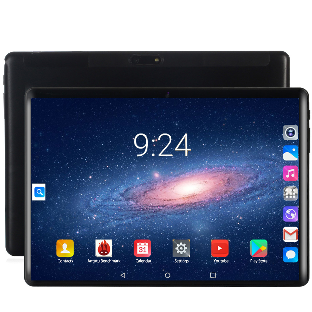 YAHU 2020 Super Tablet 128G Global Bluetooth Wifi Android 8.0 10 Inch Tablet Octa Core 6GB RAM 128GB ROM 2.5D Screen Tablets 4G