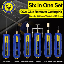 Mechanic Phone Repair Tool OCA Phone LCD Glue Remover Cell Phone LCD Screen OCA Glue Adhesive Clean Machine