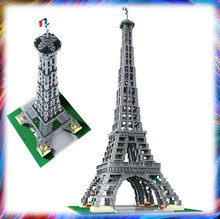 17002 City Street 3478pcs The EiffelED Tower Model Building Assembling Brick Toys Compatible 10181 Construct Toy