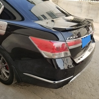 High Quality ABS Material Primer Color Car Rear Wing Spoiler For Honda Accord Spoiler 2008 2009 2010 2011 2012 2013