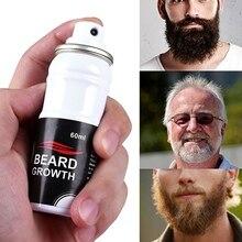 Natural Men Growth Beard Spray Oil Organic Beard Wax Balm Avoid Beard Hair Loss
