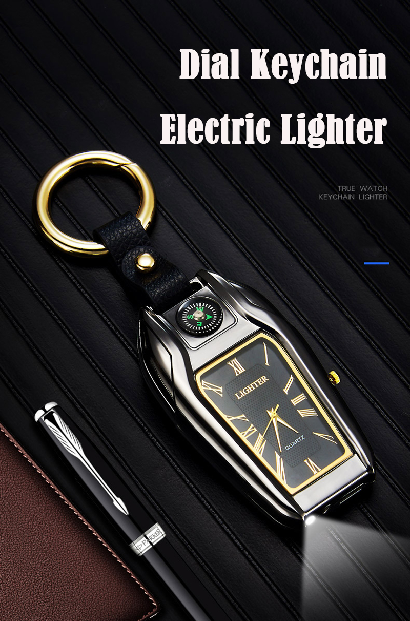 Multi-function Keychain with Watch
