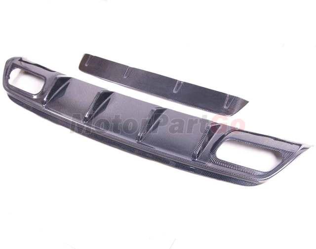FOR MERCEDES BENZ W176 A45 REAR DIFFUSER Bumper Lip Spoiler 1 LOW SPOILER ED1 AMG STYLE   M177 3