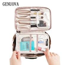Travel Shockproof Sponge Toiletry Bag Woman Handbag Organizer Large Capacity Bea