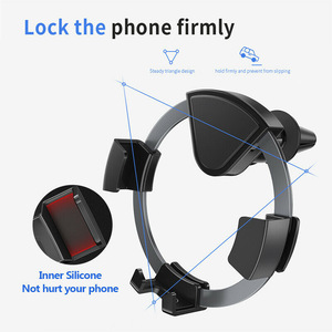 Air Vent Cell Phone Mount Hand