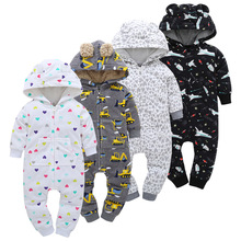 Winter Baby Boys Clothes Baby Rompers Toddler Girls Clothing Infant Jumpsuit Warm Christmas Clothes Long Sleeve Newborn Costume