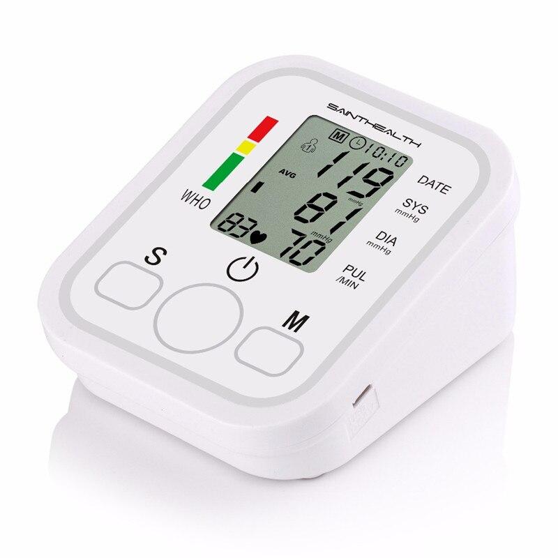 Image 5 - Saint Health Automatic Digital Arm Blood Pressure Monitor Heart Beat Rate Pulse Meter Tonometer Sphygmomanometers pulsometerBlood Pressure   -