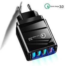 USB Charger Quick Charge 3.0 for Phone Adapter for iPhone Ta