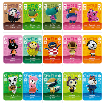 Series 2 (091 To 117) Animal Crossing Card Amiibo Card Work For NS 3D Games New Horizons Molly Blanca Muffy Roald Villager Card