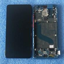 """الأصلي 6.39 """"AMOLED ل شاومي Mi 9 T برو Mi9 T برو MI9T شاشة LCD عرض الإطار لوحة اللمس محول الأرقام ل Redmi K20/K20 برو"""