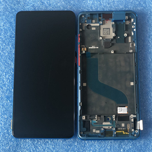 """Oryginalny 6.39 """"AMOLED dla Xiaomi Mi 9 T Pro Mi9 T Pro MI9T ekran LCD rama wyświetlacza + Panel dotykowy Digitizer dla Redmi K20/K20 Pro"""