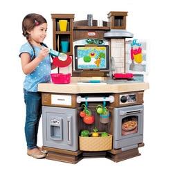 Amerika Little Tikes Smart Learning Kitchen Kinderen Speelhuis Speelgoed Model Keuken Baby Karakter Spelen