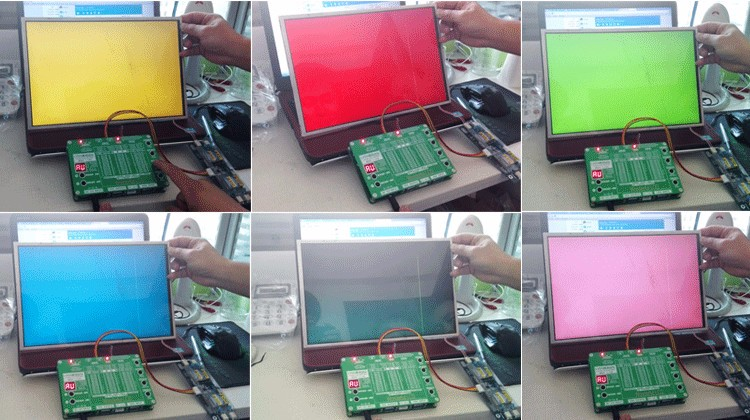 The 6th Generation Laptop TV / LCD / LED Test Tool LCD Panel Tester - Instrumentos de medición - foto 5