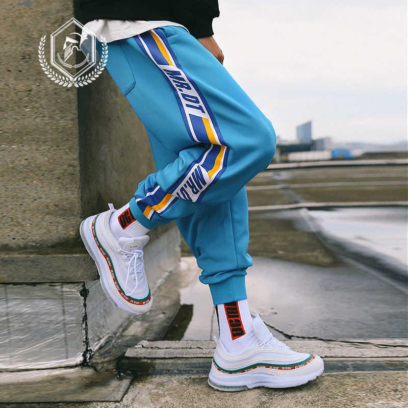 Männer Lose Streifen Sport Hosen Mode Harem Jogger Hosen Fashion Ankle-Länge Hip Hop Hosen