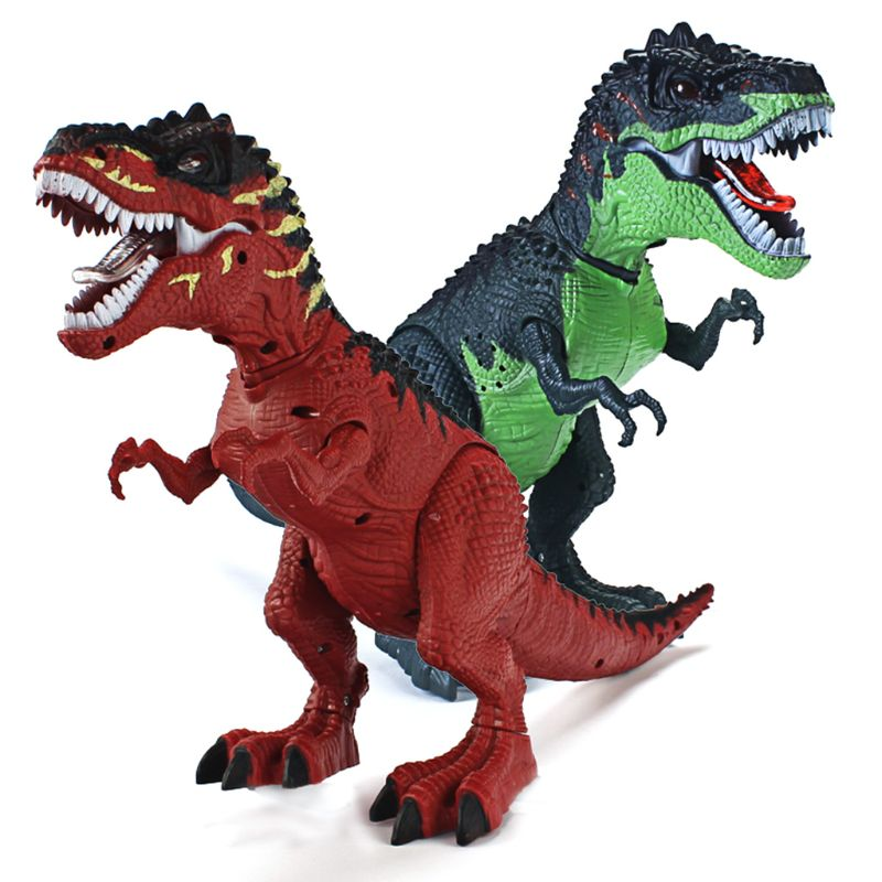 T-Rex Dinosaur Model Simulation Walking Light Projection Electric Boys Toy