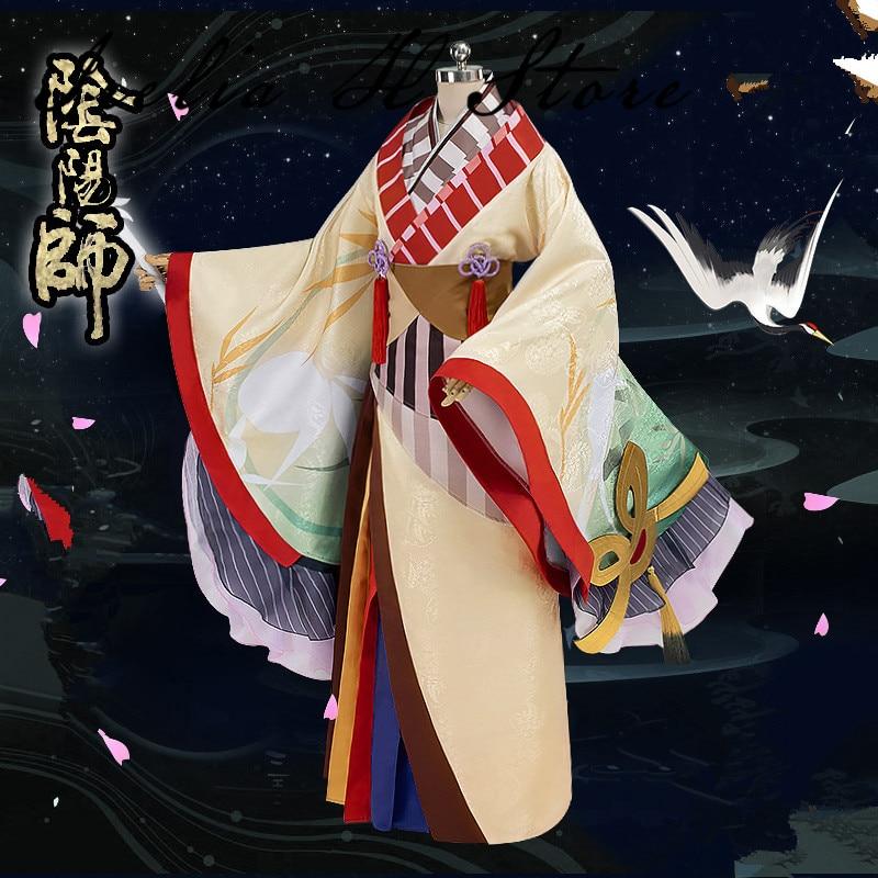 kaguya Onmyoji Cosplay Kaguyahime Cosplay Costume Halloween Kimono cosplay costumes 1