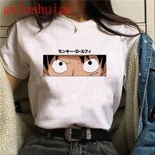 Camisa das mulheres dos desenhos animados das mulheres dos desenhos animados das mulheres dos desenhos animados do anime japonês de uma peça