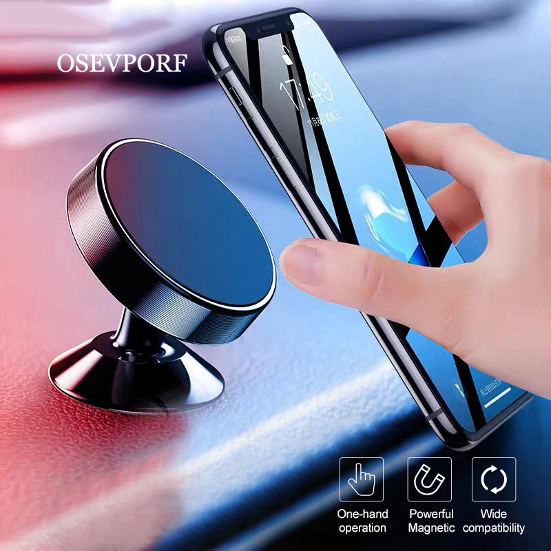 Car Phone Holder Magnetic Air Vent Mount Mobile Smartphone Stand Magnet Support Car GPS Bracket For IPhone 11 X 8 7 Samsung S10