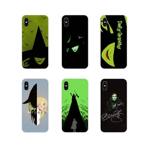 Cell Phone Cases Covers For Apple iPhone X XR XS 11Pro MAX 4S 5S 5C SE 6S 7 8 Plus ipod touch 5 6 Broadway Musical Wicked Lyrics(China)